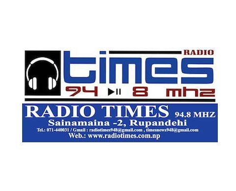Radio Times – Rupandehi